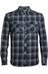 Icebreaker M's Lodge LS Flannel Shirt Metro HTHR/Stealth/Black